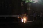 Nhân viên đường sắt bị tàu lửa cán chết