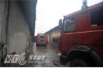 Cháy tại khu công nghiệp ở Hà Nội, hàng trăm mét nhà xưởng bị thiêu rụi