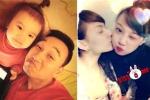 Thành Trung khoe con gái, Hồng Quế dấy nghi án les