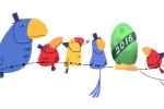 Điều bất ngờ khi Google 'nở trứng': Chúc mừng năm mới 2016