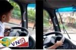 Cho con 6 tuổi lái xe, bị phạt 3 triệu đồng