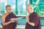Cựu tổng thống Myanmar xuất gia, lên chùa tu tập