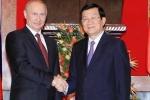 Việt - Nga ký văn kiện hợp tác dầu khí, quốc phòng