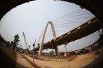 Cận cảnh cầu 3 tầng độc đáo ở Đà Nẵng trước ngày thông xe