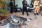 Hà Nội: Xe điên đâm hàng loạt xe máy, 3 người chết thảm