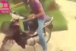 Cười vỡ bụng với cách chống trộm xe máy