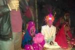 'Sốc toàn tập' với đám cưới của cô dâu 2 tuổi ở Ấn Độ