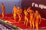 Video: Thể hình nóng bỏng của các thí sinh cuộc thi 'Strongmen'
