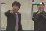 Clip: HLV Miura gắt gỏng cầu thủ Olympic Việt Nam