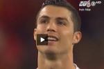 Giải mã khẩu hình Ronaldo sau thất bại trước TBN