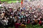 Clip: Hãi hùng cảnh biển người chen lấn, xô đẩy đến ngất xỉu tại lễ hội Đền Hùng