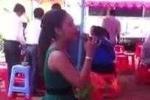 Xôn xao clip 'cô gái hát trong đám cưới người yêu cũ'