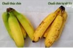 Mẹo phân biệt hoa quả chín tự nhiên và bị dùng hóa chất