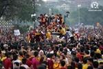 'Biển người' chen lấn, xô đẩy trong lễ hội đầu năm mới ở Philippines