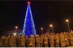 Tổng thống Putin gửi lời chúc năm mới binh sỹ Nga ở Syria