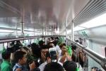 Tàu mẫu đường sắt Cát Linh-Hà Đông: Lo sợ chật chội