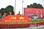 Hà Nội rực rỡ cờ hoa chào mừng Đại hội Đảng XII