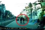 Clip: Cướp đi xe máy táo tợn giật dây chuyền thiếu nữ trên phố