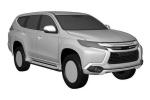 Mitsubishi Pajero Sport 2016 bị lộ bản thiết kế trước khi ra mắt