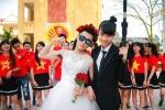 Bộ ảnh kỷ yếu hài hước 'hoán đổi giới tính' của học sinh Bắc Giang