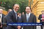 Video toàn cảnh lễ đón trọng thể Tổng thống Mỹ Barack Obama tại Phủ Chủ tịch