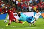 Trực tiếp World Cup 2014 bảng B: Tây Ban Nha - Chile