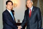 Thủ tướng gặp, hội kiến các nhà lãnh đạo Singapore