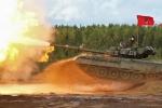 Video: Lính thiết giáp Nga tập trận bắn đạn thật với xe tăng, pháo tự hành