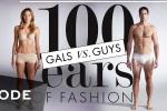 Video: 'Đọ' thời trang cho phái mạnh và phái đẹp trong 100 năm qua