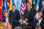 Video: Màn xã giao 'lạnh nhạt' giữa Putin và Obama