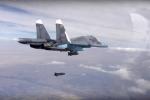 Giật mình trước lượng bom Nga dùng không kích IS ở Syria