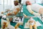 Nổ khí gas sập nhà, 4 người nhập viện: Gia đình trẻ giờ sống ra sao?