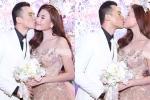 Thúy Diễm - Lương Thế Thành hôn nhau say đắm hạnh phúc trong ngày cưới