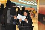 Phụ nữ Arab lần đầu tham gia bầu cử