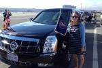 Tài xế siêu xe 'Quái thú' của ông Obama là một cô gái 26 tuổi