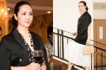 Hoa hậu đền Hùng Giáng My gợi cảm với hàng hiệu 'sang chảnh'