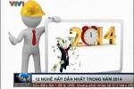 12 công việc kiếm nghìn USD trong năm 2014