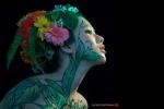 Tiết lộ những thị phi nghề người mẫu body painting