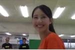 Clip: Cô gái tập võ có nụ cười tỏa nắng hút hồn người xem
