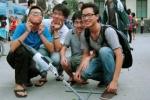 Xem phóng tên lửa nước của sinh viên Hà Thành