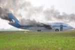 Diễn tập cứu hộ máy bay bốc cháy tại Tân Sơn Nhất