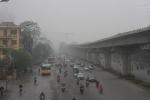 Ảnh: Hà Nội chìm trong sương mù dày đặc