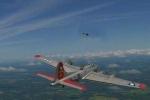 'Dị nhân' tung cánh cùng máy bay ném bom