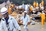 Số người chết do bão Talas không ngừng tăng lên
