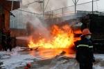 Cháy cây xăng: 'Thủ phạm' là rãnh nước và bếp than?