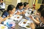 Bữa ăn học đường của trẻ - đang 'bé' lại