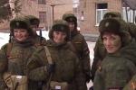 Video: Những 'bông hồng thép' của quân đội Nga đọ sắc đọ tài chào mừng 8/3