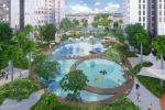 Chiêm ngưỡng vẻ đẹp tuyệt mỹ của bể bơi Vinhomes Gardenia