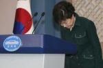 Bế tắc chính trị, nữ Tổng thống Hàn Quốc xin lỗi dân