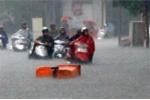 Hoàn lưu bão gây mưa lớn toàn miền Bắc